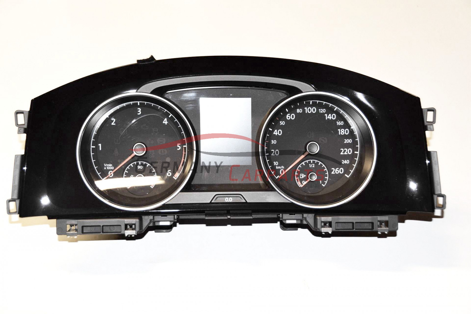 original vw golf 7 5g kombiinstrument tacho tachometer. Black Bedroom Furniture Sets. Home Design Ideas